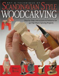 """--Basswood Cutouts - from """"Art & Technique of Scan. Style Carving"""" book"""