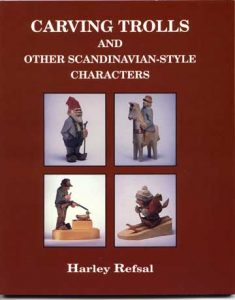 """--Basswood Cutouts from """"Carving Trolls"""" book"""