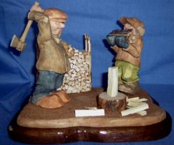 Figure Carving Examples – Bill Rulon