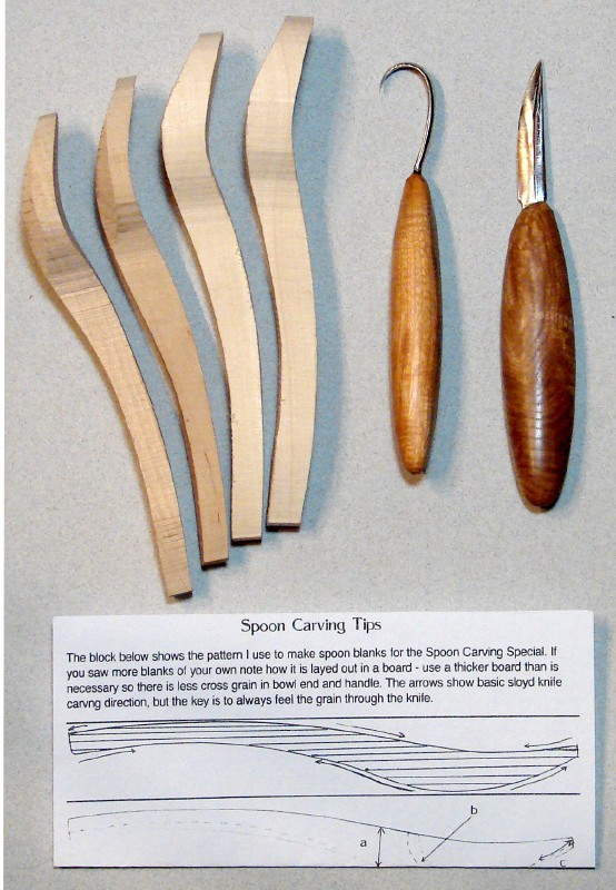 Spoon carving combo special