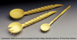 Morocco and Senegal Spoon Carving
